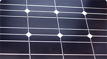 Photo of solar panel